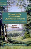 Cover of: Paysage, mythe et territorialité