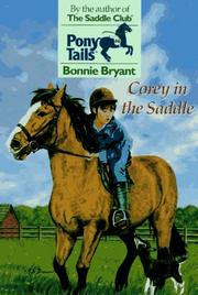 Cover of: Corey in the Saddle | Bonnie Bryant