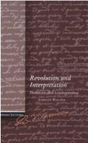 Cover of: Revolution und Interpretation