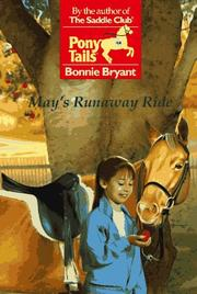 Cover of: May's Runaway Ride | Bonnie Bryant