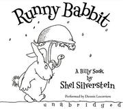 Cover of: Runny Babbit CD: A Billy Sook