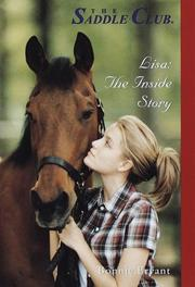 Cover of: Lisa: The Inside Story (Saddle Club(R))