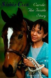 Cover of: Carole: The Inside Story (Saddle Club(R))
