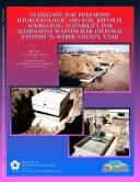 Cover of: Guidelines for preparing hydrogeologic and soil reports addressing suitability for alternative wastewater disposal systems in Weber County, Utah | Mike Lowe