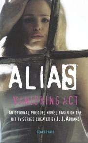 Cover of: Vanishing Act (Alias) | Sean Gerace