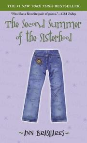 Cover of: The Second Summer of the Sisterhood (Sisterhood of Traveling Pants, Book 2)