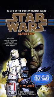 Cover of: Slave Ship (Star Wars: The Bounty Hunter Wars, Book 2) |