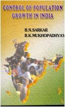 Cover of: Control of population growth in India