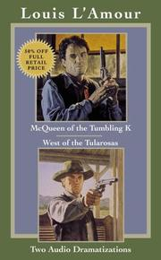 Cover of: McQueen of the Tumbling K & West of Tularosa (Louis L