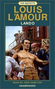 Cover of: Lando | Louis L