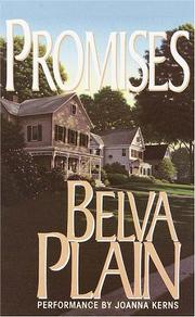 Cover of: Promises |