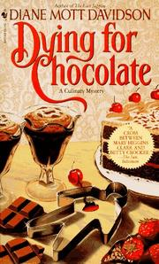 Cover of: Dying for Chocolate (Goldy Culinary Mysteries, Book 2)