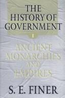 Cover of: The history of government from the earliest times