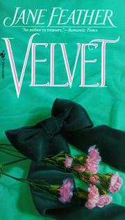Cover of: Velvet | Jane Feather