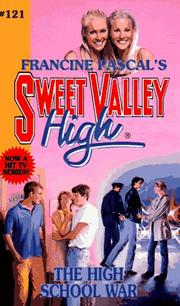 Cover of: The High School War