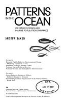 Cover of: Patterns in the ocean | Andrew Bakun