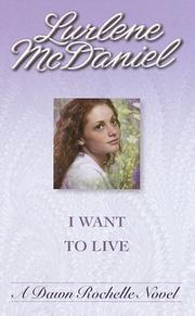 Cover of: I Want to Live
