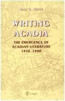Cover of: Writing Acadia