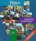 Cover of: Ways we live