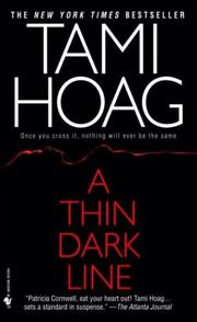Cover of: A Thin Dark Line (Mysteries & Horror)