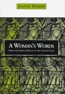 Cover of: A woman's words
