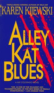 Cover of: Alley Kat Blues (Kat Colorado Mysteries)