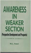 Cover of: Awareness in weaker section