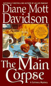 Cover of: The Main Corpse (Goldy Culinary Mysteries, Book 6)
