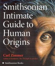 Cover of: Smithsonian Intimate Guide to Human Origins | Carl Zimmer