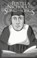 Cover of: The Postilla of Nicholas of Lyra on the Song of Songs
