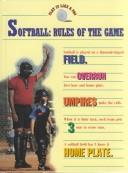 Cover of: Softball--rules of the game