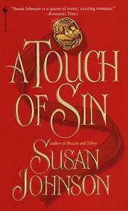 Cover of: A Touch of Sin | Susan Johnson