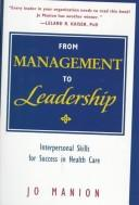 Cover of: From Management to Leadership