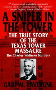 Cover of: A sniper in the Tower