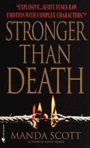 Cover of: Stronger Than Death (Crime Line)