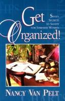 Cover of: Get organized!