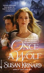Cover of: Once a wolf