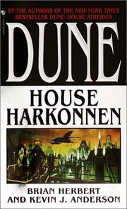 Cover of: Dune : House Harkonnen