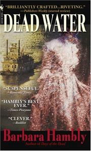 Cover of: Dead Water (Benjamin January, Book 8) | Barbara Hambly