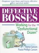 Cover of: Defective bosses