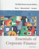 Cover of: Essentials of corporate finance