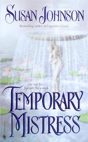 Cover of: Temporary mistress
