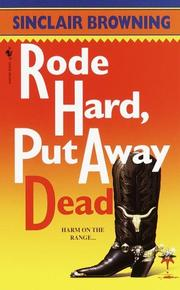 Cover of: Rode hard, put away dead