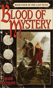 Cover of: Blood of mystery