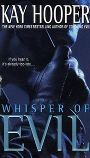 Cover of: Whisper of Evil (Evil Trilogy) (Hooper, Kay. Evil Trilogy.)