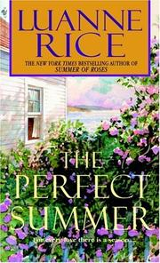 Cover of: Perfect summer