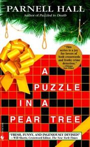 Cover of: A Puzzle in a Pear Tree (Puzzle Lady Mysteries) | Parnell Hall
