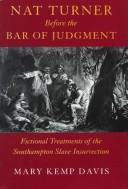Cover of: Nat Turner before the bar of judgment