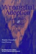Cover of: Wrongful adoption
