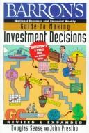 Cover of: Barron's guide to making investment decisions
